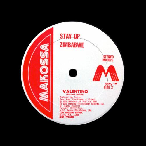 "Valentino Mad On A Soca Fad / Stay Up Zimbabwe Makossa 12"", Original Vinyl"