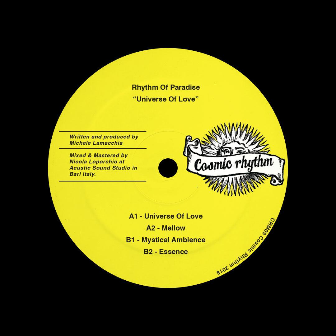 "Rhythm Of Paradise Universe Of Love Cosmic Rhythm 12"" Vinyl"