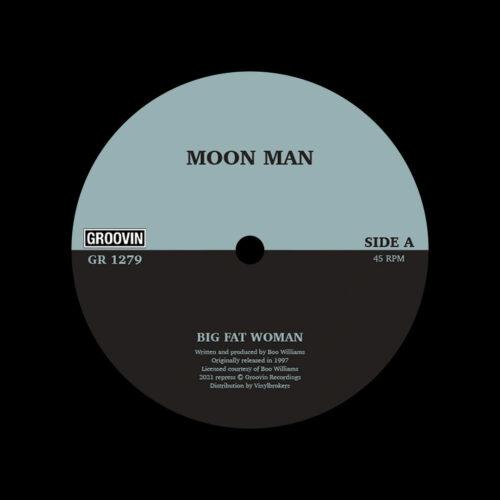 "Moon Man Big Fat Woman Groovin Recordings 12"", Reissue Vinyl"