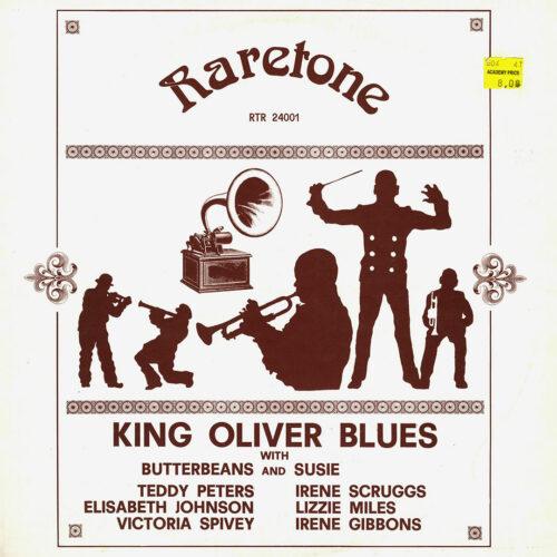 King Oliver King Oliver Blues Raretone LP Vinyl