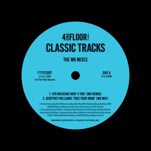 "Various 4 To The Floor Classics 006 4 To The Floor 12"" Vinyl"