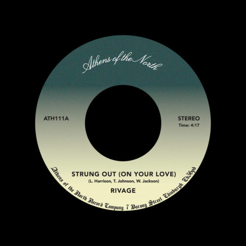 """Rivage Strung Out / All My Love For You Athens Of The North 7"""", Reissue Vinyl"""