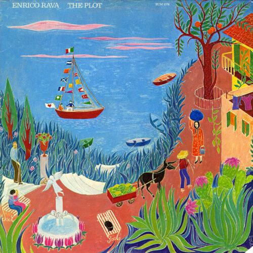 Enrico Rava The Plot ECM Records LP Vinyl