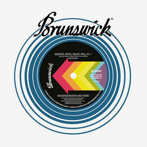 "Vaughan Mason Bounce, Rock, Skate, Roll Brunswick 7"", Reissue Vinyl"
