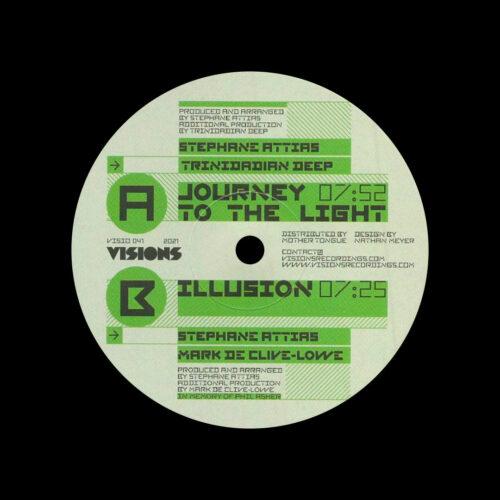 "Stephane Attias Journey To The Light / Illusion Visions Inc 12"" Vinyl"
