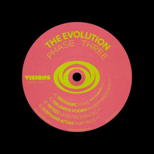 "Various The Evolution Phase Three Visions Inc 12"" Vinyl"