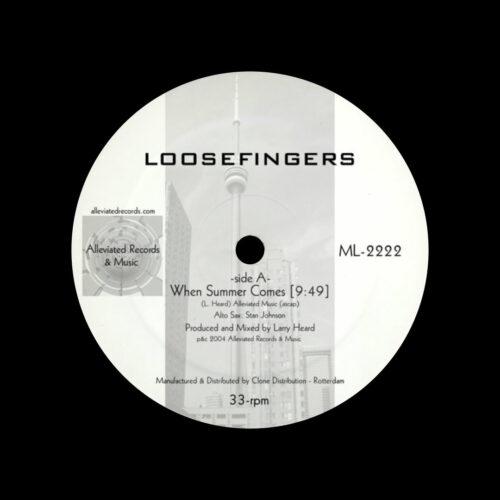 """Loosefingers Loosefingers EP 2 Alleviated 12"""", Reissue Vinyl"""