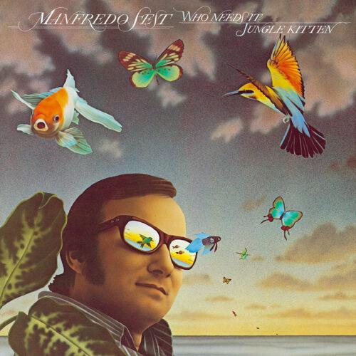 """Manfredo Fest Who Needs It / Jungle Kitten P-Vine Records 7"""", Reissue Vinyl"""
