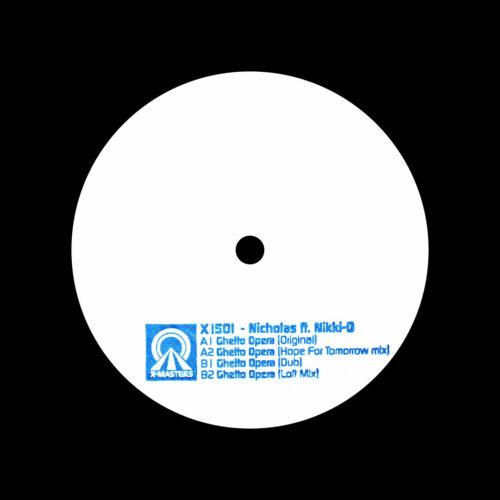 """Nicholas, Nikki-O Ghetto Opera X-Masters 12"""", Repress Vinyl"""