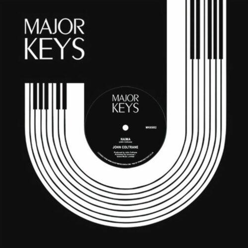 """John Coltrane Naima / My Favorite Things Major Keys 12"""", Reissue Vinyl"""