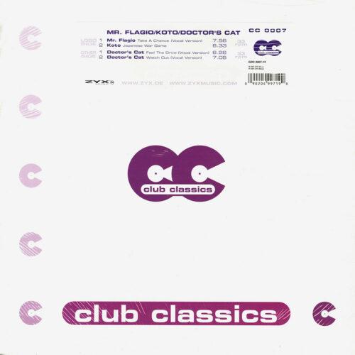 "Doctor's Cat, Koto, Mr. Flagio Club Classics 07 ZYX Music 12"" Vinyl"