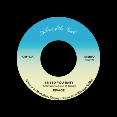 """Rivage I Need You Baby / Answer Athens Of The North 7"""", Reissue Vinyl"""