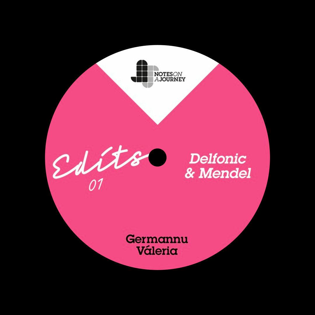 "Germannu, Valeria NOAJ Edits 01 Notes On A Journey 12"" Vinyl"