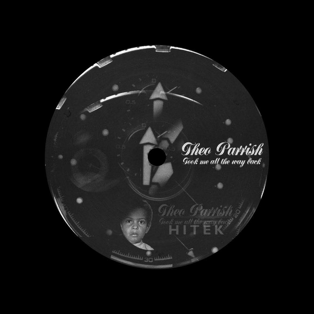 "Theo Parrish Took Me All The Way Back KDJ, Sound Signature 12"", Reissue Vinyl"