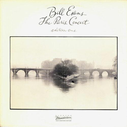 Bill Evans The Paris Concert (Edition One) Elektra Musician LP Vinyl