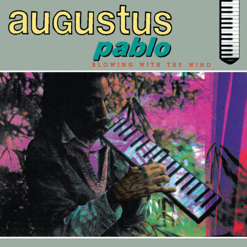 Augustus Pablo Blowing With The Wind Greensleaves Records LP, Reissue Vinyl