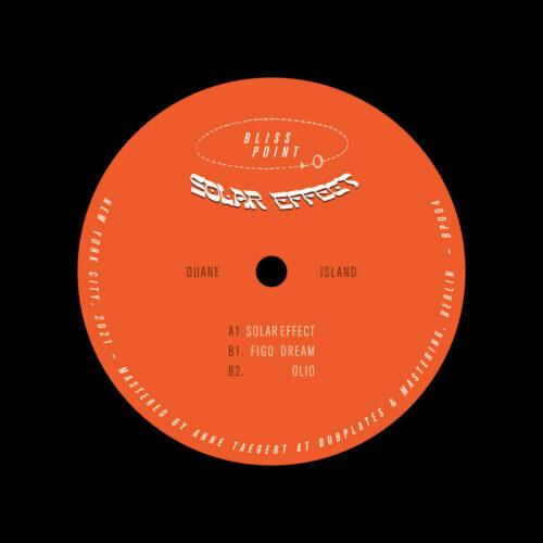 """Duane Island Solar Effect Bliss Point 12"""" Vinyl"""
