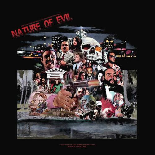 Psychic Mirrors Nature Of Evil Cosmic Chronic LP, Reissue, Repress Vinyl