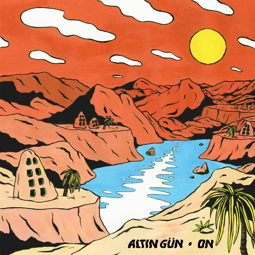 Altin Gün On Les Disques Bongo Joe LP, Reissue Vinyl