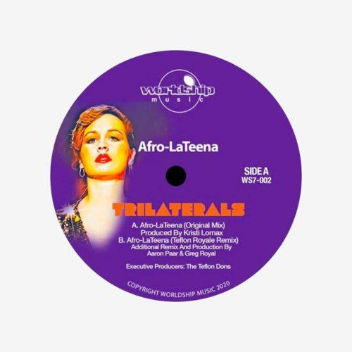 "The Trilaterals Afro-LaTeena (Ltd) Worldship 7"" Vinyl"