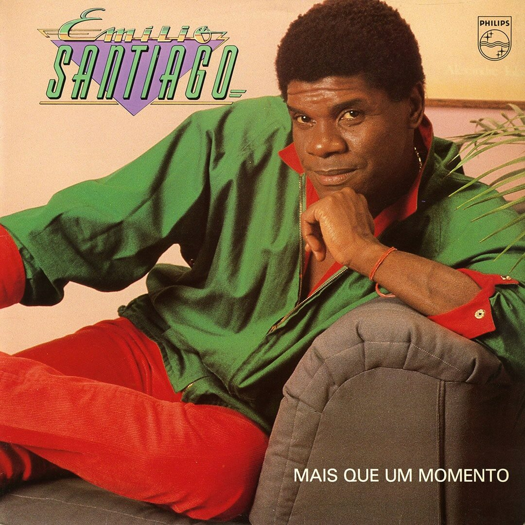 Emílio Santiago Mais Que Um Momento Philips LP Vinyl