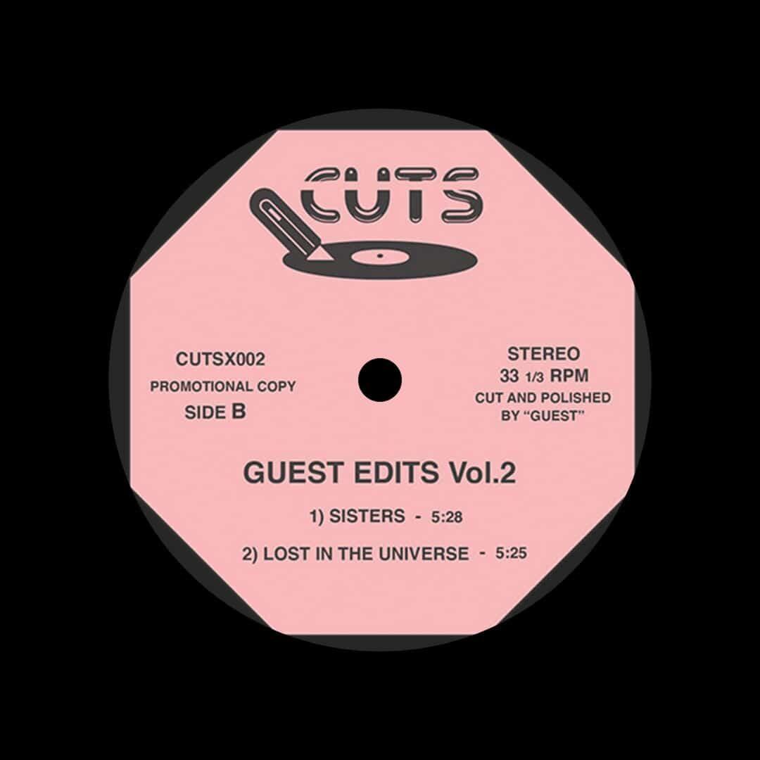"Unknown Guest Edits, Vol. 2 Cuts 12"" Vinyl"