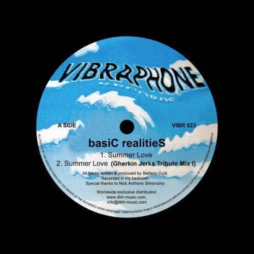 "Basic Realities Summer Love / Desert Valley Vibraphone Records 12"" Vinyl"