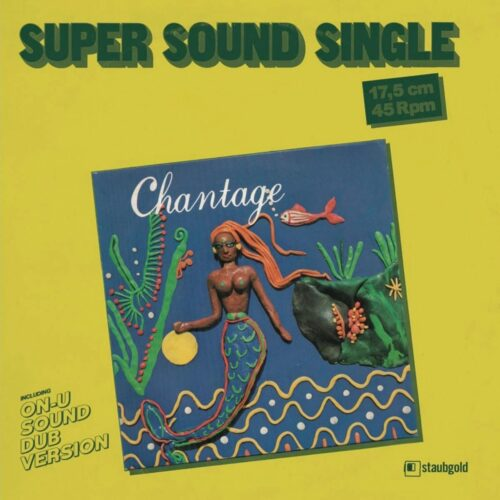 """Chantage It's Only Money Staubgold 7"""", Reissue Vinyl"""