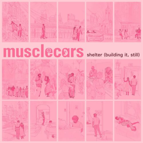 """Musclecars Shelter (Building It, Still) Coloring Lessons Records 12"""" Vinyl"""