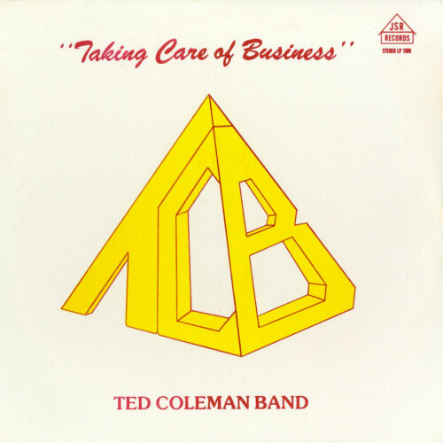 Ted Coleman Band Taking Care Of Business P-Vine Records LP, Reissue Vinyl
