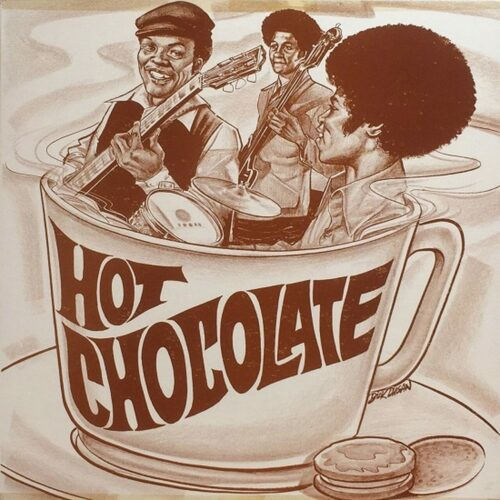 """Hot Chocolate Ain't That A Groove / Understand Each Other P-Vine Records 7"""", Reissue Vinyl"""