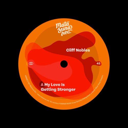 "Various My Love Is Getting Stronger / The Bold Matasuna Rec 7"" Vinyl"