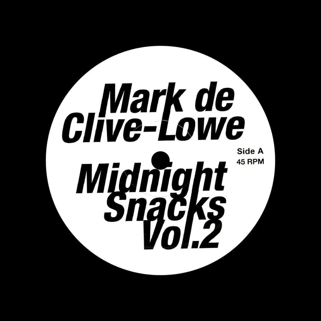 "Mark De Clive-Lowe Midnight Snacks, Vol. 2 Mashibeats 12"" Vinyl"