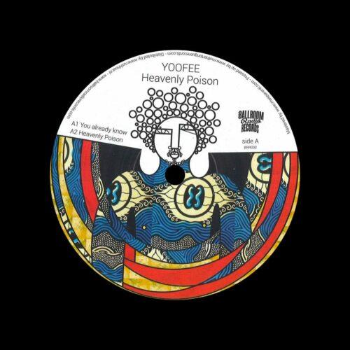 "Yoofee Heavenly Poison Ballroom Radio Records 12"" Vinyl"