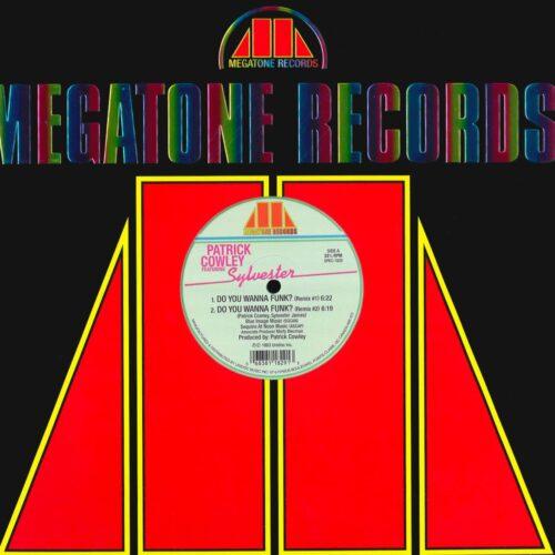 "Patrick Cowley, Sylvester Do You Wanna Funk? / Don't Stop Megatone Records, Unidisc 12"", Reissue Vinyl"