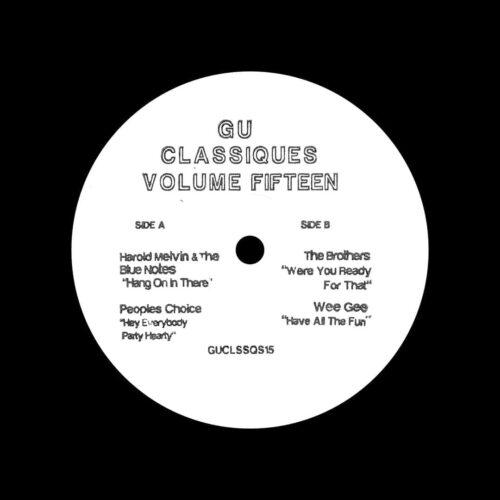 "Glenn Underground Classiques, Vol. 15 Not On Label 12"" Vinyl"
