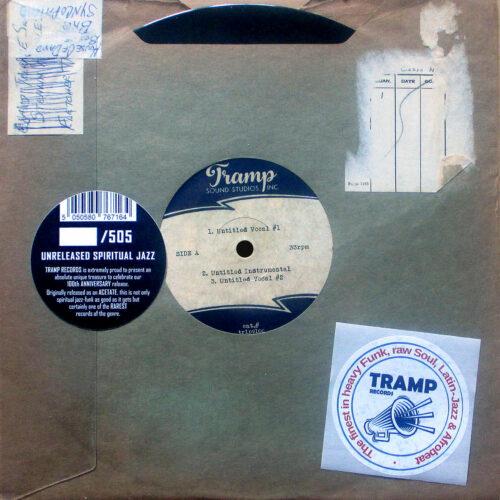 Unknown Unreleased Spiritual Jazz Tramp Records 10 Vinyl