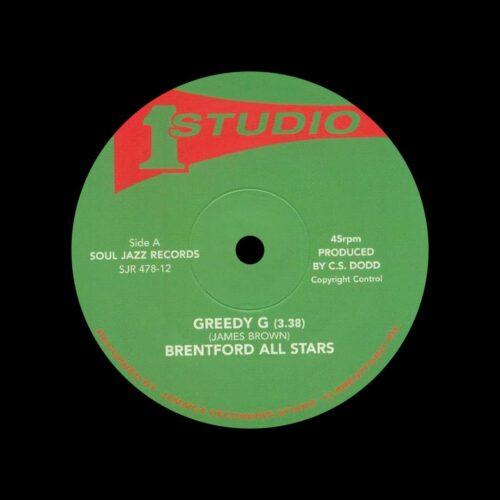 "Brentford All Stars, Dub Specialist Greedy G / Granny Scratch Scratch Soul Jazz Records 12"" Vinyl"