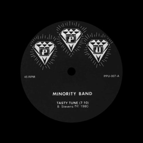 """Minority Band Tasty Tune / Live Peoples Potential Unlimited 12"""", Reissue Vinyl"""