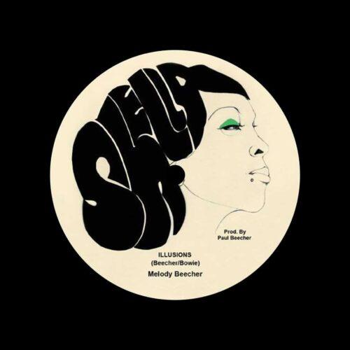 "Melody Beecher Diamonds & Thrills Shella Records 7"", Reissue Vinyl"