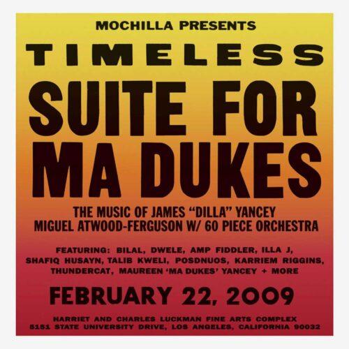 Miguel Atwood-Ferguson Timeless: Suite For Ma Dukes Mochilla 2xLP, Reissue Vinyl