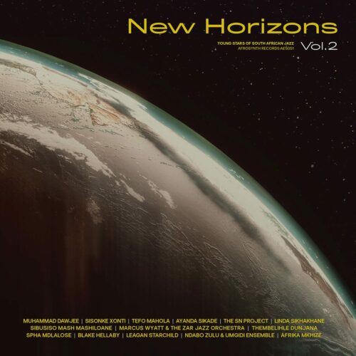 Various New Horizons, Vol. 2 Afrosynth Records 2xLP, Compilation Vinyl