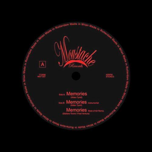 """Alden Tyrell Memories Moustache Records 12"""" Vinyl"""