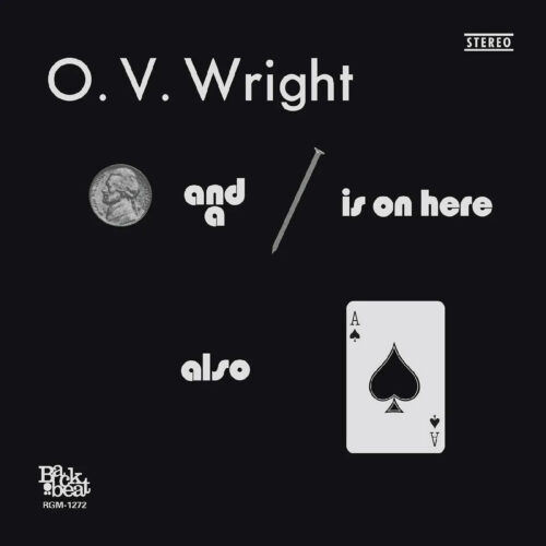 O.V. Wright A Nickel & A Nail & The Ace Of Spaces Real Gone Music LP, Reissue Vinyl