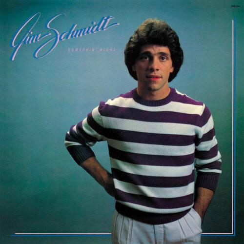 Jim Schmidt Somethin' Right P-Vine Records LP, Reissue Vinyl