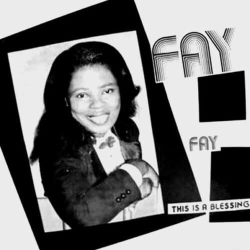 Fay Hill This Is A Blessing P-Vine Records LP, Reissue Vinyl