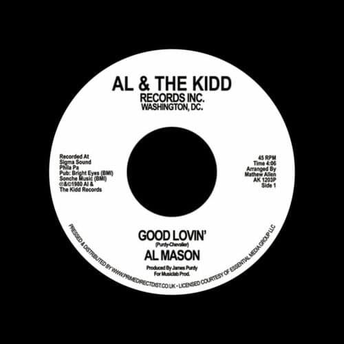 "Al Mason Good Lovin / We Still Could Be Together Al & The Kidd Records 7"", Reissue Vinyl"