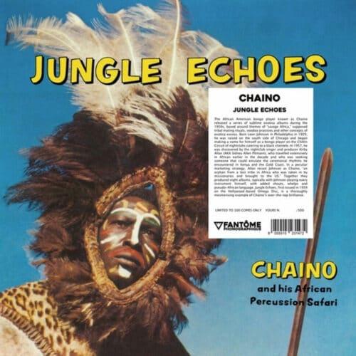 Chaino & His African Percussion Safari Jungle Echoes Fantome Phonographique LP, Reissue Vinyl