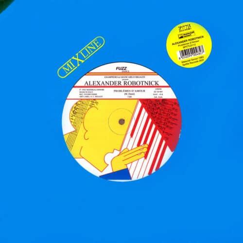 "Alexander Robotnick Problemes D'Amour Spittle Records 12"", Reissue Vinyl"