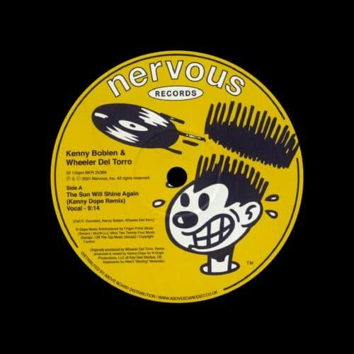 "Kenny Bobien, Wheeler Del Torro The Sun Will Shine Again (Kenny Dope Remix) Nervous Records 12"" Vinyl"